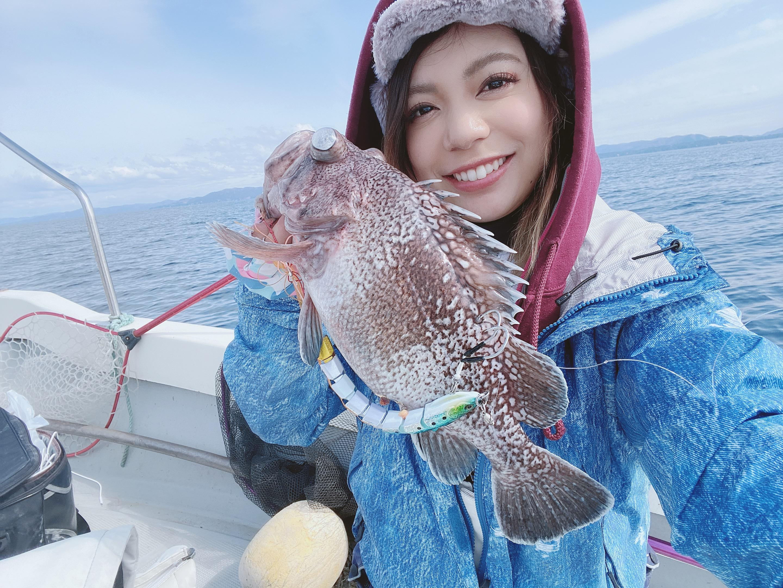 宮城県雄勝でのボートロックで釣ったマゾイですです♪